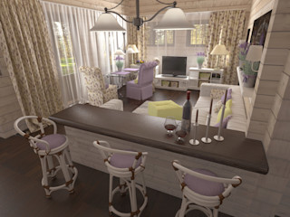 Artscale Country style living room