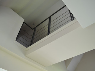 Gad'HOUSE DCA Couloir, entrée, escaliers modernes