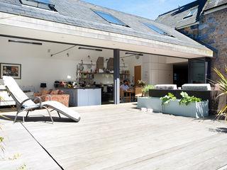 Maison Frie au Four CCD Architects Тераса