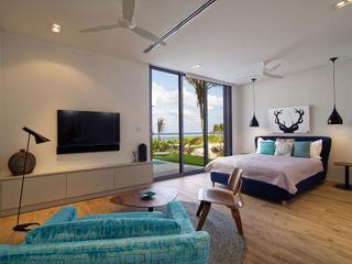 Rum Point Tye Architects Modern style bedroom