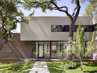 West Lake Hills Residence Specht Architects Modern houses