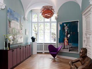 Gisbert Pöppler Architektur Interieur 隨意取材風玄關、階梯與走廊