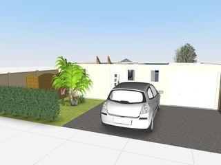 Rez de chaussée d'une maison individuelle L'Oeil DeCo Maisons modernes