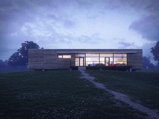 modular_01 VALENTIROV&PARTNERS Casas de estilo minimalista