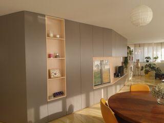 mae arquitectura Modern living room