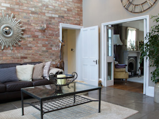Private Residence - Sussex Artisans of Devizes Dinding & Lantai Gaya Klasik Batu Kapur Black