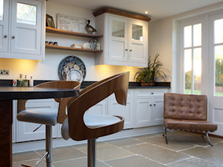 Private Residence - Hampstead Artisans of Devizes Dinding & Lantai Modern Batu Kapur Beige