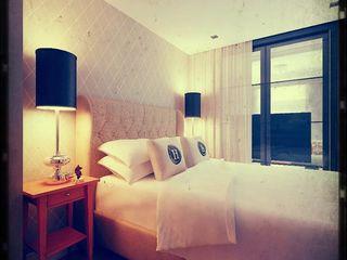 Kill Bill. New York. 2014 KAPRANDESIGN Спальня в стиле минимализм
