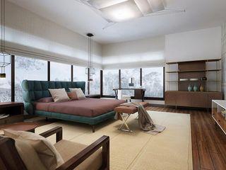 Nigeria III. 2015 KAPRANDESIGN Спальня в тропическом стиле