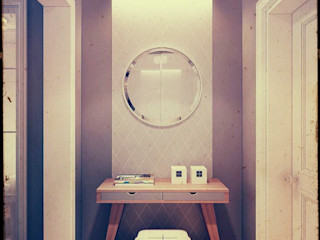 Kill Bill. New York. 2014 KAPRANDESIGN Коридор, прихожая и лестница в стиле минимализм
