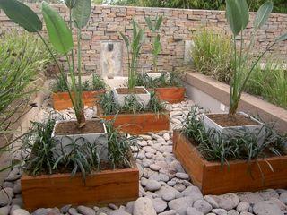 BAIRES GREEN MUEBLES Asian style garden Granite Grey
