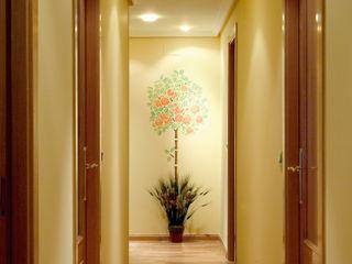 Pinturas oliváN Corredores, halls e escadas campestres Sintético Amarelo