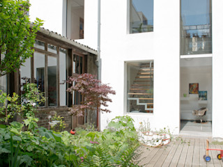 MELANIE LALLEMAND ARCHITECTURES Nowoczesne domy