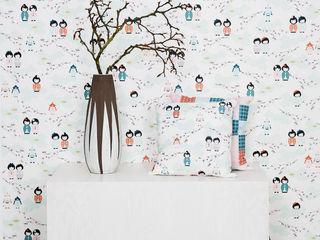 Wallpaper BY MAY/ Siluett Frost Window Film Murs & SolsPapier peint
