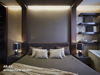 AR-KA architectural studio Modern style bedroom