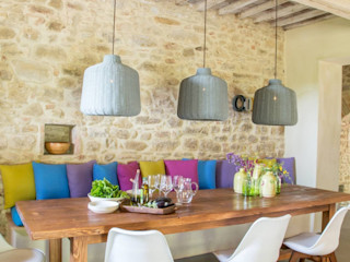 Marcello Gavioli Salas de jantar rústicas