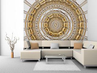 Palazzo Mowade Wände & BodenTapeten Bernstein/Gold