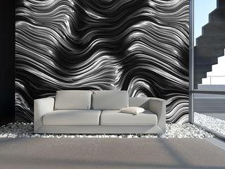 Tapeten in Metalloptik Mowade Wände & BodenTapeten