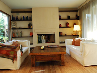Parrado Arquitectura Rustik Oturma Odası