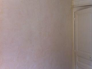 Stuc contemporain, effet marbré AR Decor - Peinture de décoration Salon moderne