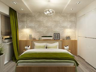 Eclectic DesignStudio Kamar Tidur Minimalis