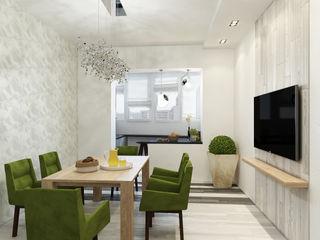Eclectic DesignStudio Ruang Makan Minimalis