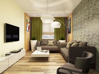 Eclectic DesignStudio Ruang Keluarga Gaya Eklektik