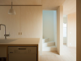 市原忍建築設計事務所 / Shinobu Ichihara Architects Modern kitchen