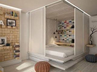 YOUR PROJECT Dormitorios de estilo industrial
