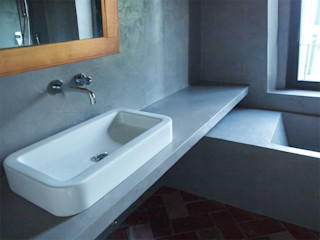 DPd Delogu Pettini Architetti Associati Colonial style bathrooms