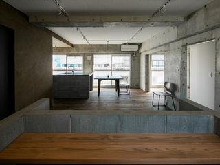 group-scoop Rustic style living room