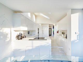 Velwell Road Barc Architects Nhà bếp phong cách hiện đại