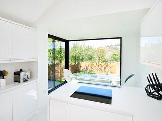 Velwell Road Barc Architects Phòng ăn phong cách hiện đại