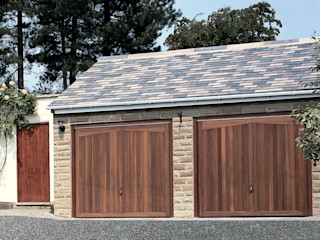 Timber Garage Doors The Garage Door Centre Limited Garages/schuren