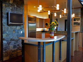 Hangman Valley Residence Uptic Studios Moderne Küchen