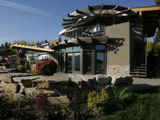 Liberty Lake Residence Uptic Studios Moderne Häuser