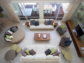 Estudio Sespede Arquitectos Modern Living Room