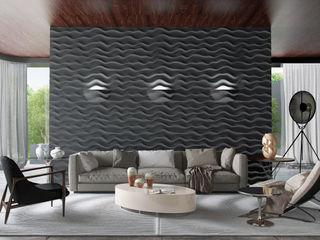 Artur Akopov Moderne Wohnzimmer