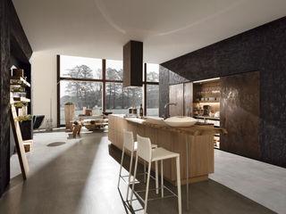 Trendiger Farb- und Materialmix Dick Küchen Moderne Küchen