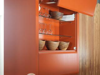 Futuristisches Design und kultige Farbe Dick Küchen Ausgefallene Küchen