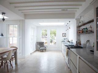 Rear Extension Oakman Modern style kitchen