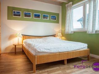 """Home Staging einer """"jungen"""" Doppelhaushälfte MK ImmoPromotion Moderne Schlafzimmer"""