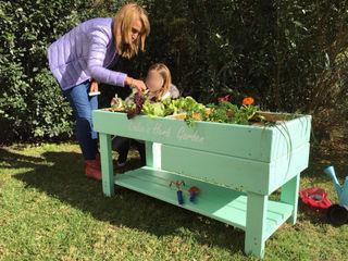 Mundo Garden GiardinoFioriere & Vasi Legno massello Verde