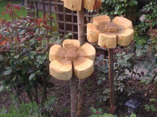 Blumen zu jeder Jahreszeit Holzwerkerin Eving GartenAccessoires und Dekoration