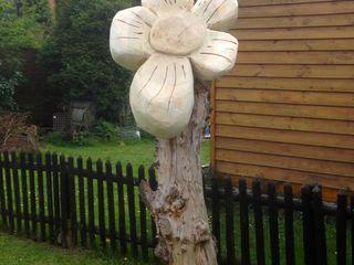 zu schade für die Säge... Holzwerkerin Eving GartenAccessoires und Dekoration