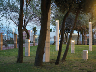 Marmi Serafini JardínIluminación