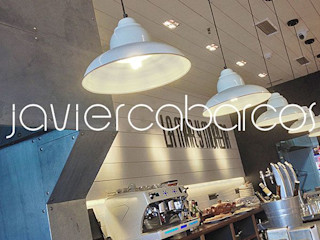 JAVIER CABARCOS Industrial style bars & clubs