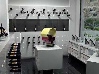 Pepa Navarro Interiorismo ミニマルな商業空間