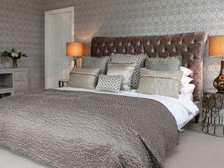 Walton Grange Indigo Acre INTERIORS Ltd BedroomBeds & headboards