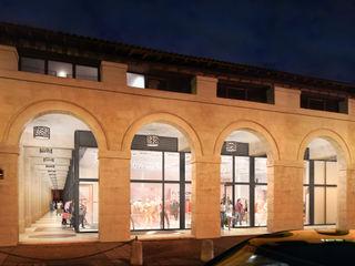 Marché Saint-Germain Sebastien Rigaill 3D Visualiser Shopping Centres